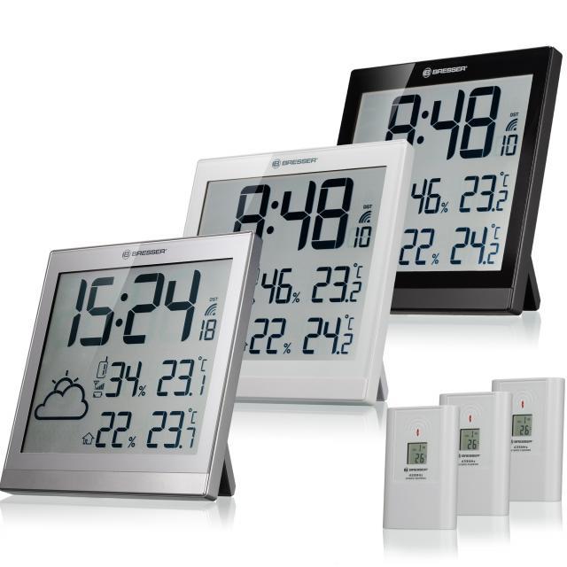 BRESSER TemeoTrend JC LCD Weather-Clock