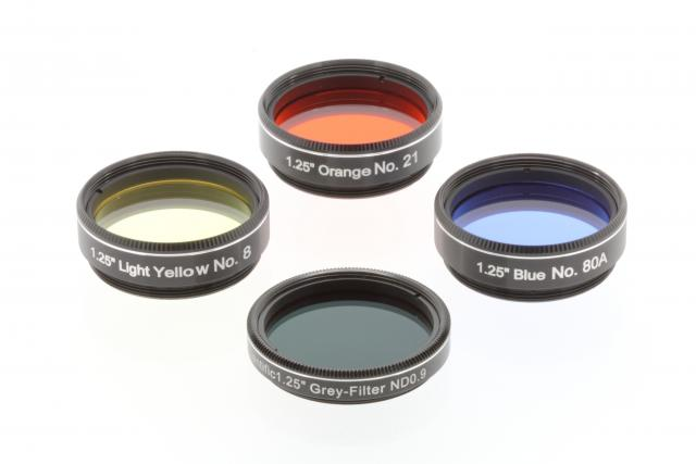 EXPLORE SCIENTIFIC Filter Set 1 Moon & Planets from 50mm (2'')