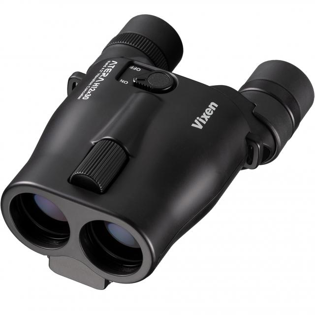 Vixen ATERA H12x30 Binocular with stabilizer, black