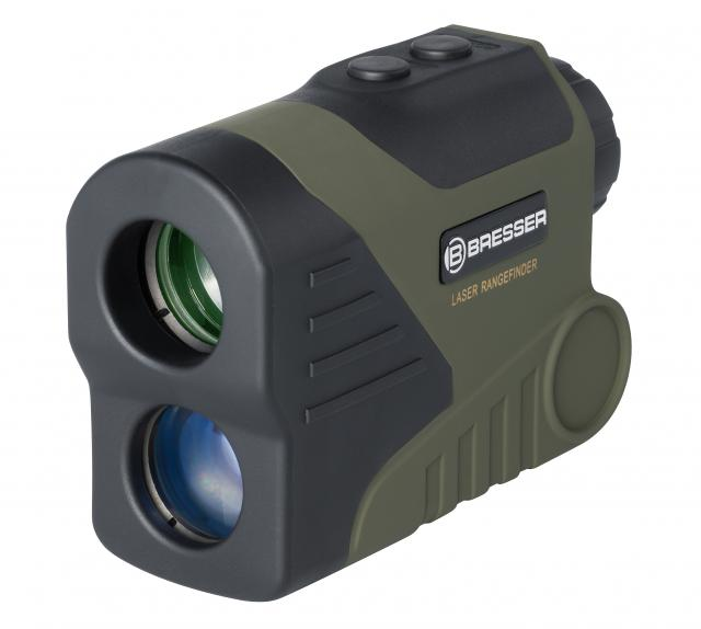 BRESSER Laser Rangefinder & Speedmeter WP/OLED 6x24 - 800m