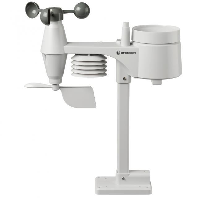 BRESSER 5-in-1 Outdoor Sensor for 7002580 Colour Weather Center