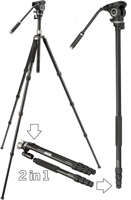 BX-5 Pro Video-Tripod