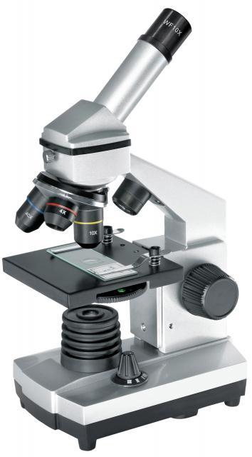 BRESSER JUNIOR Biolux CA 40x-1024x Microscope incl. Smartphone Holder