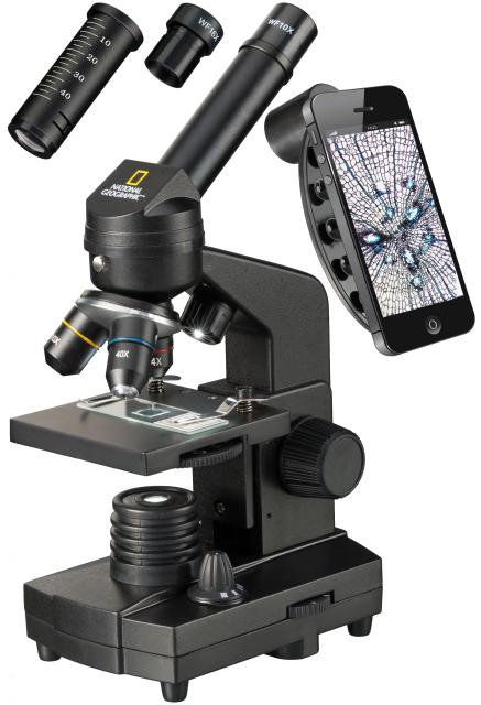 NATIONAL GEOGRAPHIC 40x-1280x Microscope with Smartphone holder
