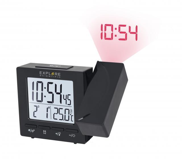 EXPLORE SCIENTIFIC Projection Radio-controlled Alarm clock