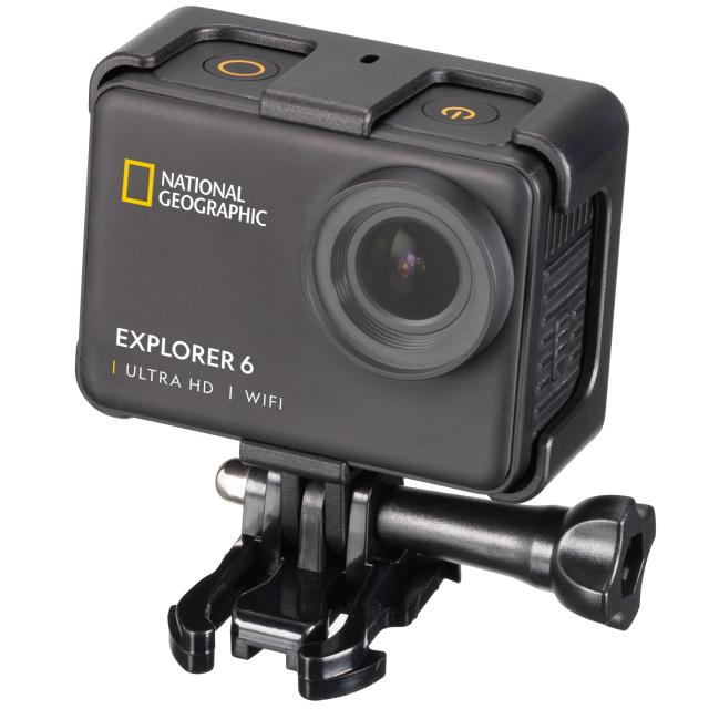 NATIONAL GEOGRAPHIC 4K Ultra-HD WIFI Action Camera Explorer 6
