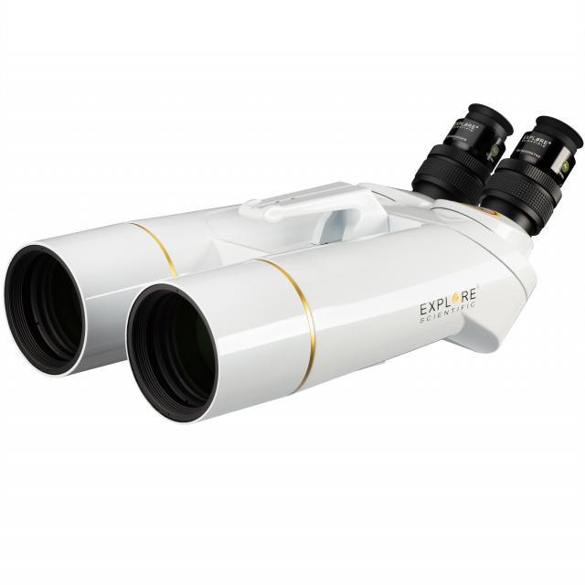 EXPLORE SCIENTIFIC BT-70 SF Giant Binocular with 62° LER Eyepieces 20mm