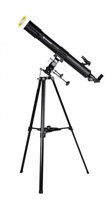 BRESSER Taurus 90/900 MPM Refractor Telescope with smartphone adapter & solar filter