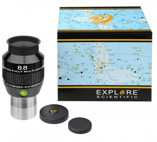 """EXPLORE SCIENTIFIC 82° Ar Eyepiece 8.8mm (1.25"""")"""