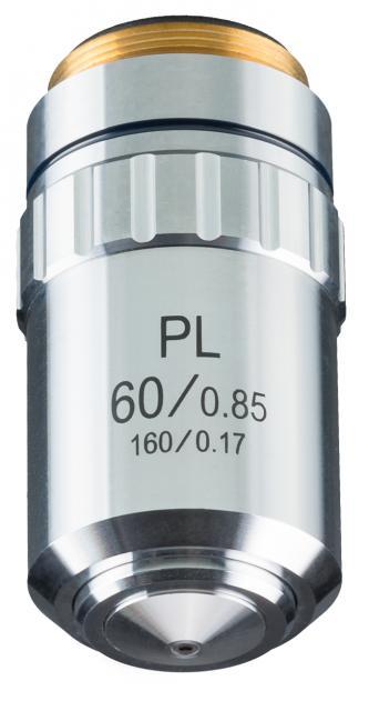 DIN-PL 60x, planachromatic