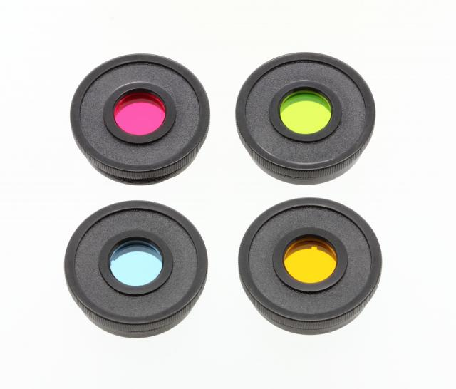 """Color Filter Set Essential 1,25"""" Red,Green,Blue,Yellow"""