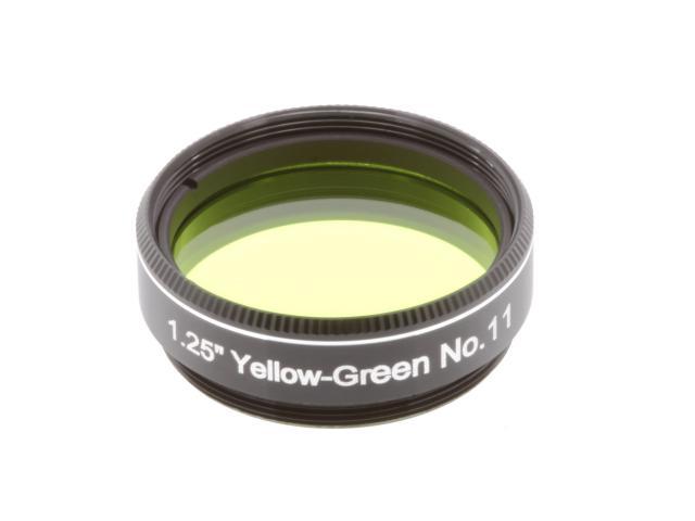 """EXPLORE SCIENTIFIC Filter 1.25"""" YellowGreen No.11"""