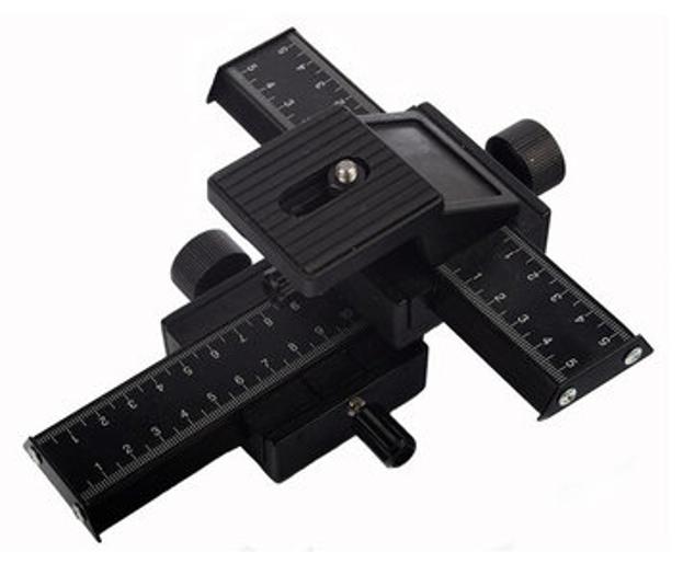 BRESSER BR-36 Macro tripod head with adjusting slide