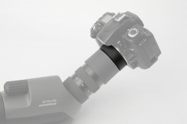 BRESSER Photoadapter Canon EOS for Condor Spotting scopes Gen 1 (green)